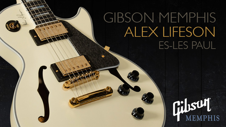 Gibson Memphis Alex Lifeson Es Les Paul Wildwood Guitars