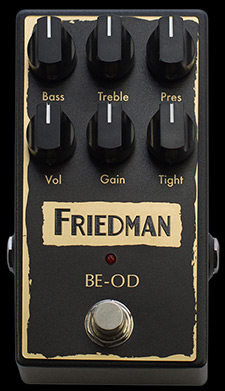 BE-OD Overdrive Pedal