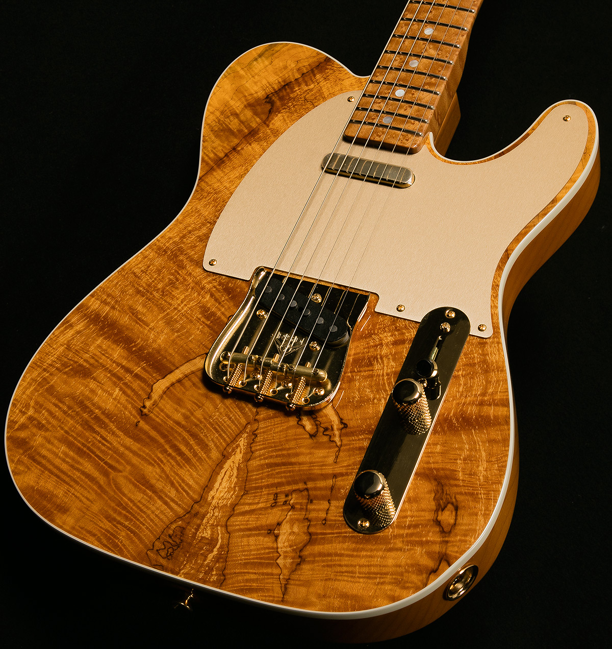 custom collection artisan telecaster spalted maple custom collection artisan series. Black Bedroom Furniture Sets. Home Design Ideas