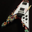 2006 Gibson Custom Limited Jimi Hendrix Psychedelic V - Hand Painted