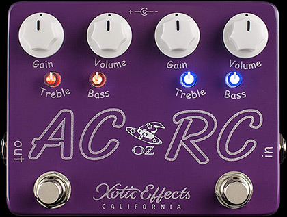 AC/RC-OZ Limited Edition Oz Noy Boost/Overdrive Pedal