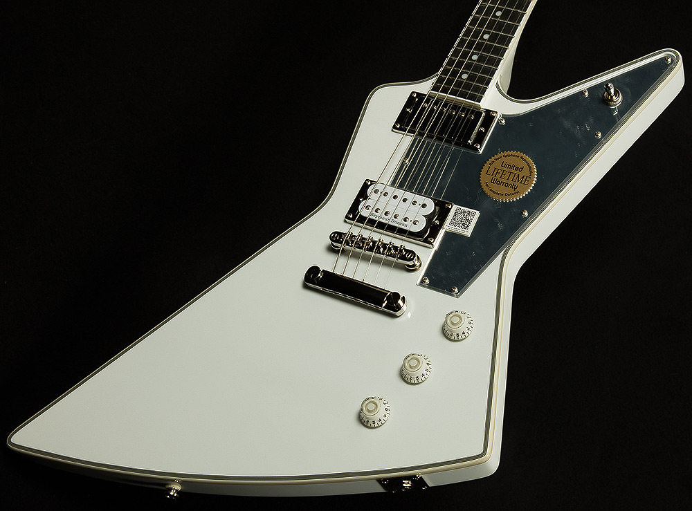 Limited Edition Tommy Thayer White Lightning Explorer