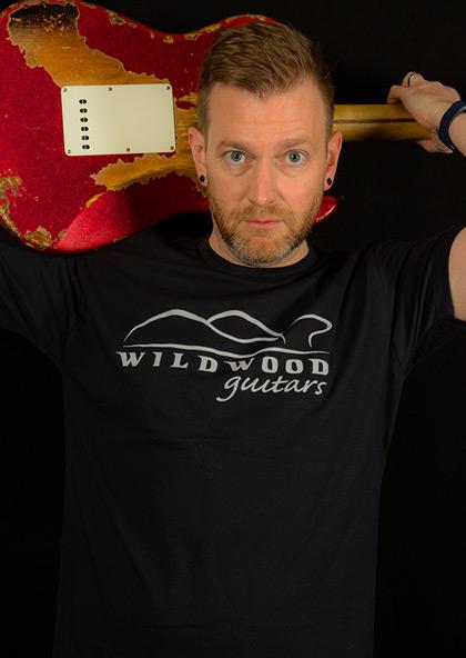 Wildwood Logo T-Shirt in Black