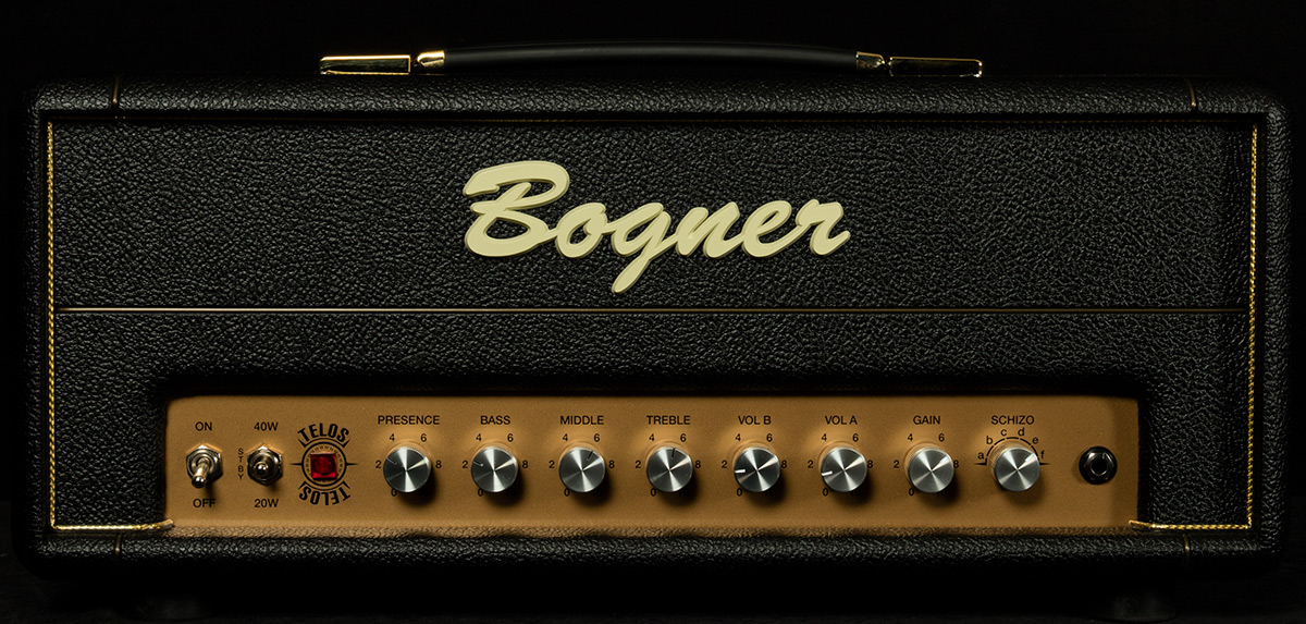 for whole family pre order detailed pictures Telos 40W Head | Bogner Amplification | Wildwood Guitars