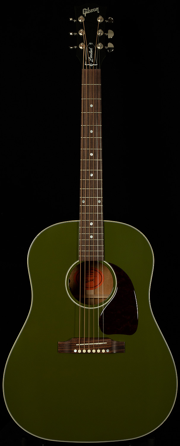 626907b4b4c 2018 Gibson Limited J-45 Standard - Olive Green | 2018 Gibson ...