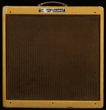 Vintage 1958 Fender Bassman 5E6