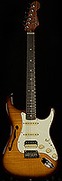 Rarities Flame Maple Top Stratocaster HSS Thinline