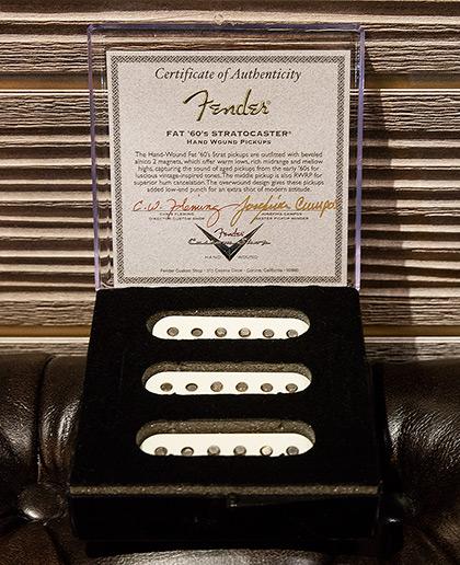 Josefina Hand-Wound Fat '60s Stratocaster Pickups