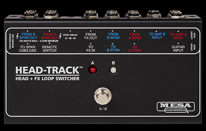 Head-Track Head Switcher and Effects Loop